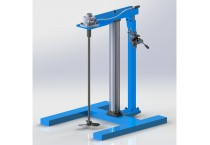 HXUD Fixed Frame lift Air Mixer
