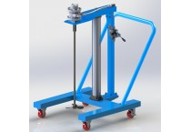 HXUM Frame Moving Lift Air Mixer