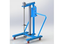 Large Capacity Frame Moving Type Pneumatic Lift Mixer