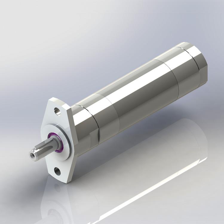 Miniatuurvertraging Lugmotor MUD 16-140-F55