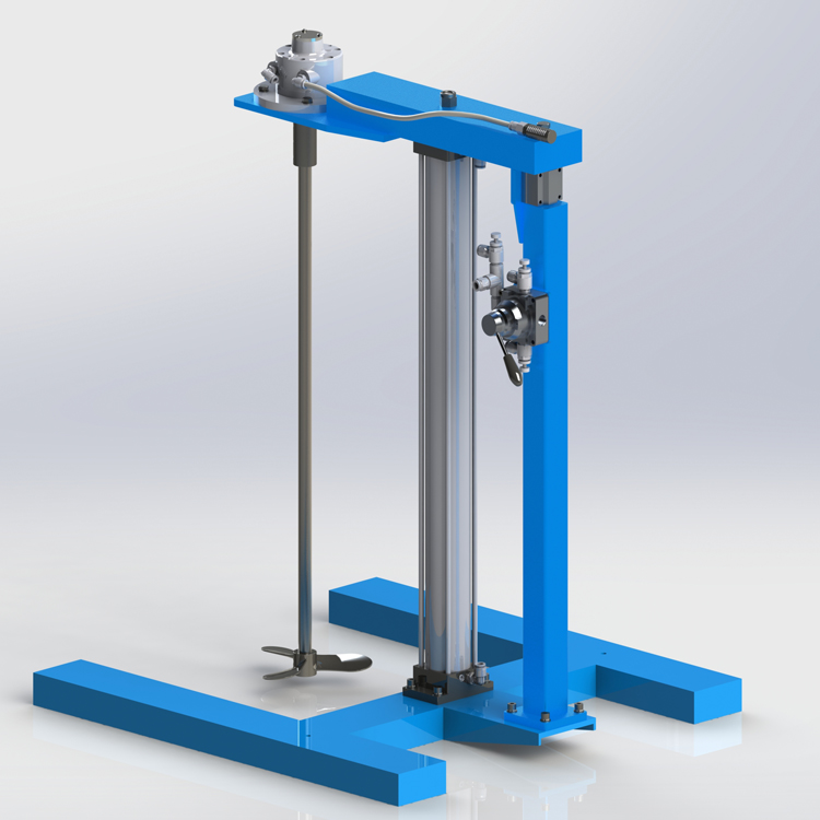 HXUD Fixed Frame lift Air Mixer Нобайлар